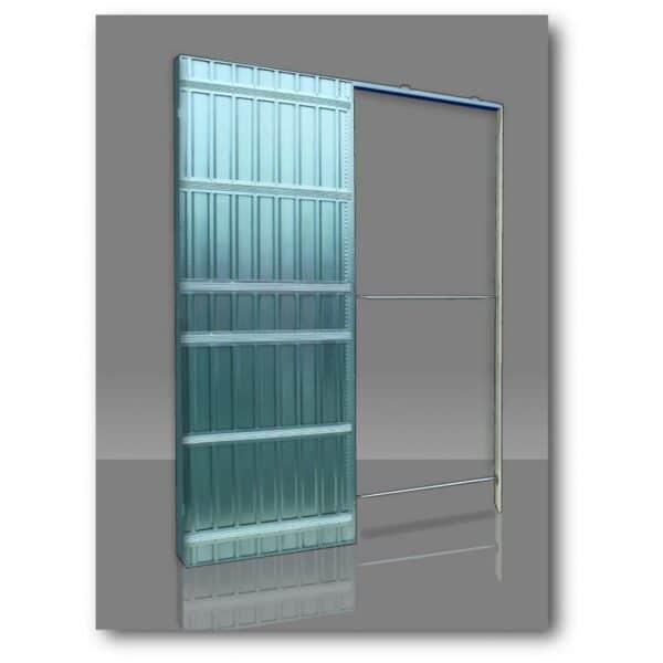 Controtelaio per pareti in cartongesso per porte a scomparsa SCRIGNO DOORTECH