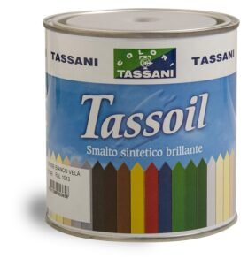 Smalto bianco lucido a solvente TASSANI TASSOIL
