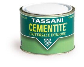 Cementite ® all'acqua Tassani L'ORIGINALE colore bianco vari formati