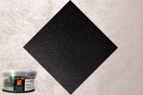 Applicazione glitter multicolore CeboGlitter