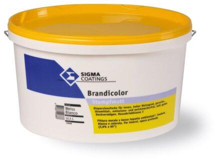 Pittura per interni lavabile bianca alto potere coprente esente da emissioni nocive Sigma Brandicolor