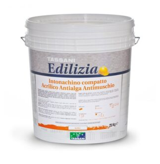 Intonachino compatto antialga antimuschio colore bianco mm 1,5