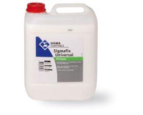 Fissativo acrilico base acqua per interni ed esterni sigmafix universal