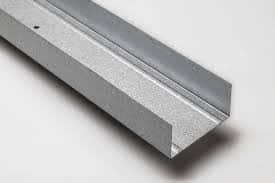 Profilo guida da 55 mm per pareti e contropareti in cartongesso
