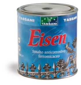 Smalto antiruggine ferromicaceo Tassani EISEN a grana fine - vari formati