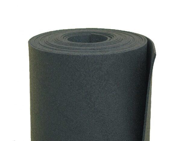 Rotolo in gomma vulcanizzata ISOROLL per isolamento acustico e sottomassetto spessore 5 mm mq.12.5