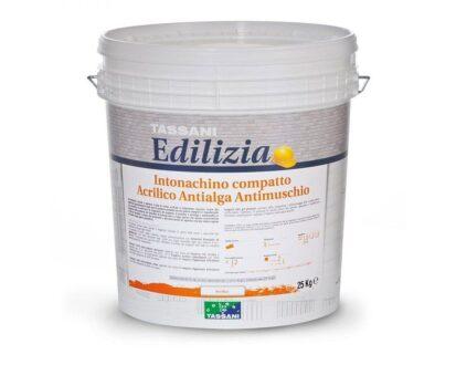 Intonachino compatto antialga, antimuschio colore bianco