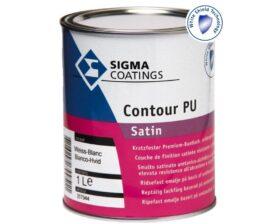 Smalto satinato a solvente per legno, metallo e pvc Sigma Contour PU SATIN