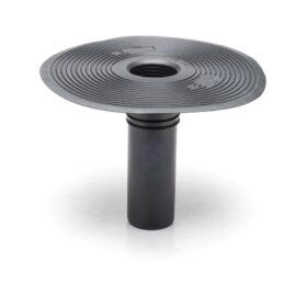 Bocchettone per guaina bituminosa in TPE per h 240 mm