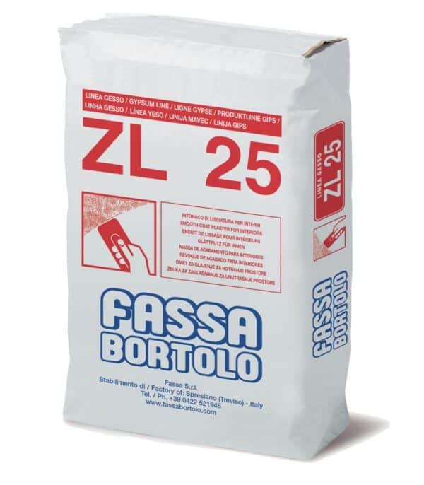Rasante di finitura FASSA ZL25 kg.25
