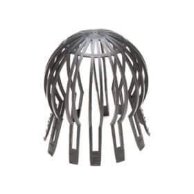 Parafoglie per scarichi in acciaio zincato