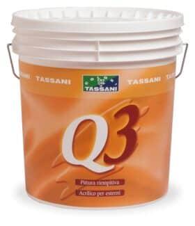 Pittura per esterni acril - silossanica al quarzo fine Tassani Q3