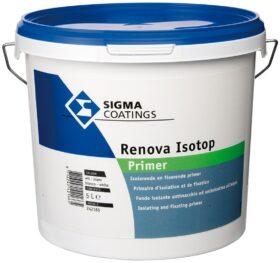 Fondo isolante bianco antimacchia e antinicotina Sigma Renova Isotop primer