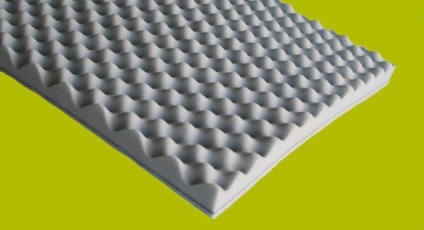 Pannello fonoassorbente 60x60 cm bugnato in resina melamminica ISOTEK FOAM