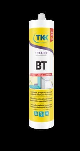 Colla di montaggio per legno pvc polistirolo TEKAFIKS BT ml.300