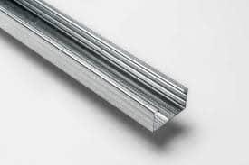 Profilo montante controsoffitto cartongesso 27 / 60 in acciaio zincato