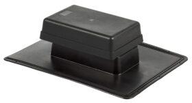 Aeratore a cassetta per tetti piani o inclinati con coperchio 230 x 115 mm