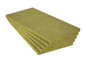 Pannello in lana di roccia per cappotto rigido ad alta densità 120x60 densità 120 kg/mc FIbran BP-30