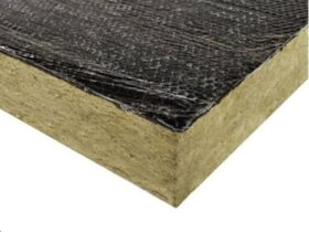 Pannello in lana di roccia bitumata per cappotto 120x100 cm BIT-50