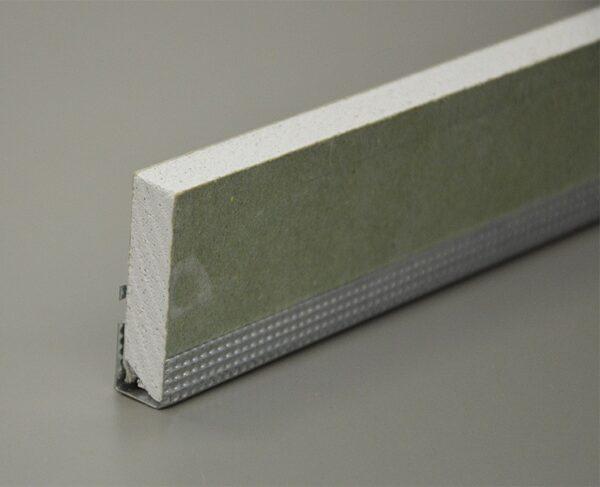 Paraspigolo cartongesso a l forato martellinato in lamiera zincata akifix 14 x 22 mm x 3 m