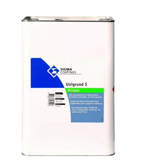 Fissativo a solvente trasparente per supporti sfarinanti e polverosi Sigma UNIGRUND S