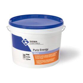 Rivestimento a spessore intonachino acrilico per tinte forti resistente agli agenti atmosferici Sigma Putz Energy 20 kg