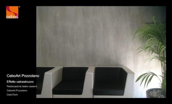 Applicazione Pittura decorativa CeboArt Pozzolano