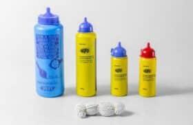 Flacone polvere tracciante blu 120 gr