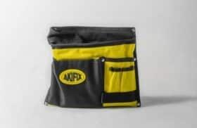 Tasca da posatore in tessuto antistrappo con cinta 5 comparti Akifix