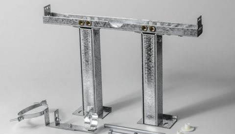 Kit supporto wc sospeso cartongesso universale per parete akifix