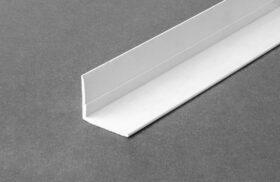 Parabordo curvo in pvc per controsoffitti in fibra minerale ml.2,5 akifix
