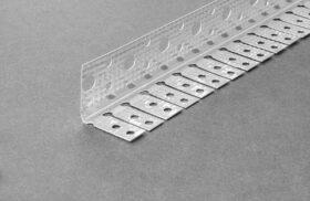 Paraspigolo cartongesso flessibile cartongesso in lamiera zincata 30 x 30 mm x 3 m akifix