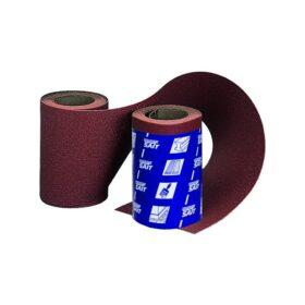 Rotolo di carta abrasiva SAIT per vernici legni e metalli dimensioni 115 mm x 5 metri varie grane