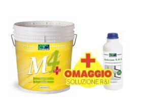 Pittura antimuffa anticondensa traspirante TASSANI M4 LT.14 + Soluzione R&I battericida in OMAGGIO