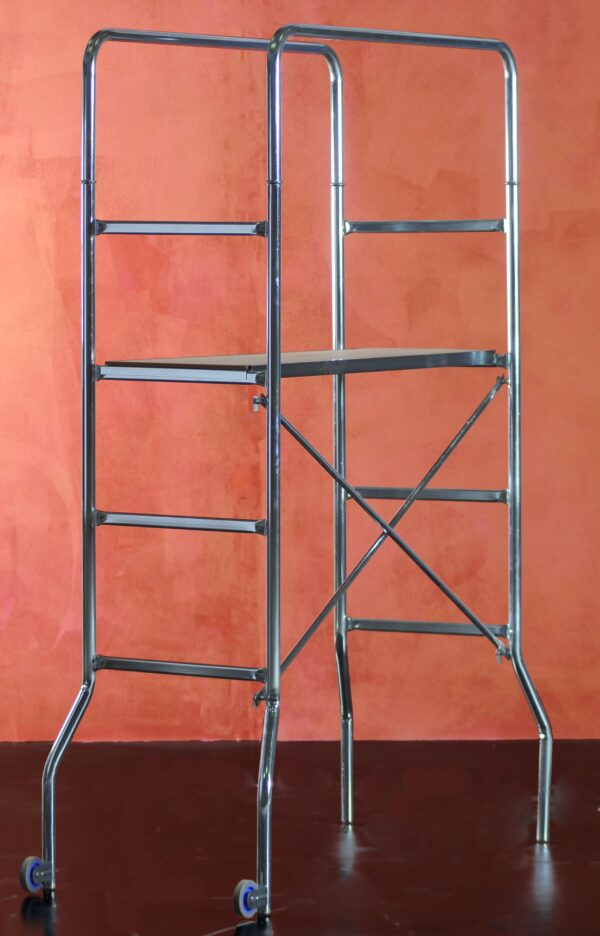 Trabattello marchetti SuperTrio per interni dimensioni 65 x 169 cm h 2.18 metri