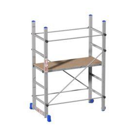 Trabattello in alluminio MARCHETTI MINIO 50x119 cm h 1.63 metri