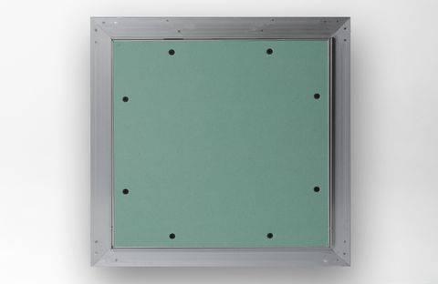 Botola cartongesso 20x20 ispezione con telaio in alluminio Akifix