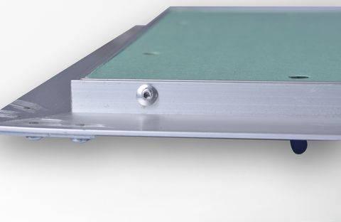 Botola cartongesso 30x30 ispezione con telaio in alluminio Akifix