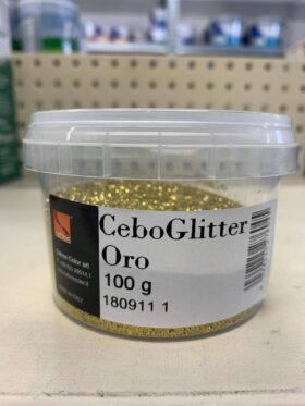 Additivo in polvere a base di glitter oro CeboGlitter Oro