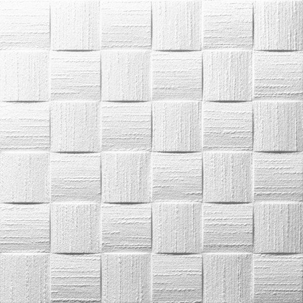 Pannello polistirolo decorato DUBLIN dimensione 50x50 Confezione mq.20 (€ 3.10 al mq)