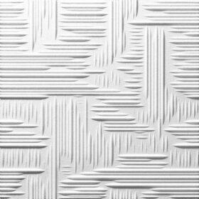 Pannello polistirolo decorato LILLE dimensione 50x50 - CONF. 18 MQ - 80 PANNELLI
