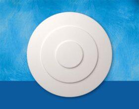 Rosone in polistirolo per soffitto modello ANNABELLE diametro 32 cm