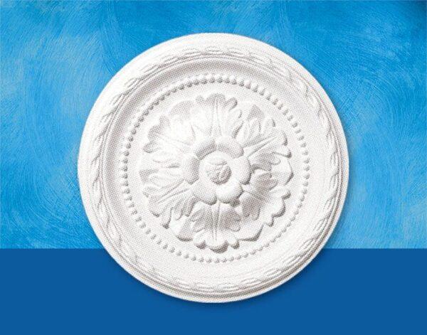 Rosone in polistirolo per soffitto modello DANIELLE diametro 30 cm