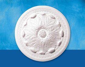 Rosone in polistirolo per soffitto modello ESTRELLA diametro 47 cm