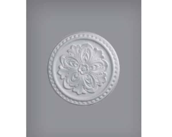 Rosone in polistirolo per soffitto modello ER42 diametro 42 cm