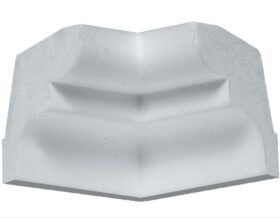 Angolo interno in polistirene estruso IA755I per cornice I755 4x5 cm