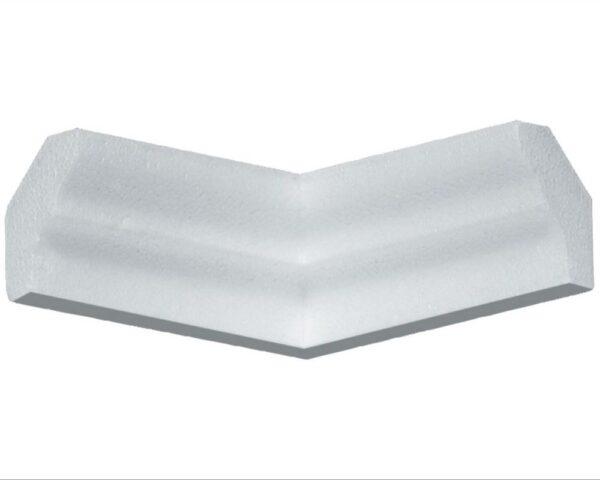 Angolo interno in polistirene estruso IA725I per cornice I725 2x2,5 cm