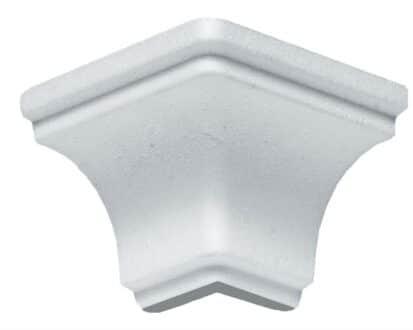 Angolo esterno in polistirene estruso IA707E per sguscio I707 5x5 cm