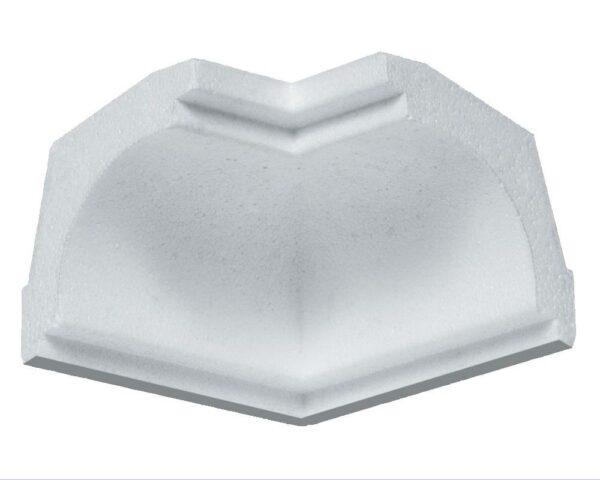 Angolo interno in polistirene estruso IA707I per sguscio I707 5x5 cm