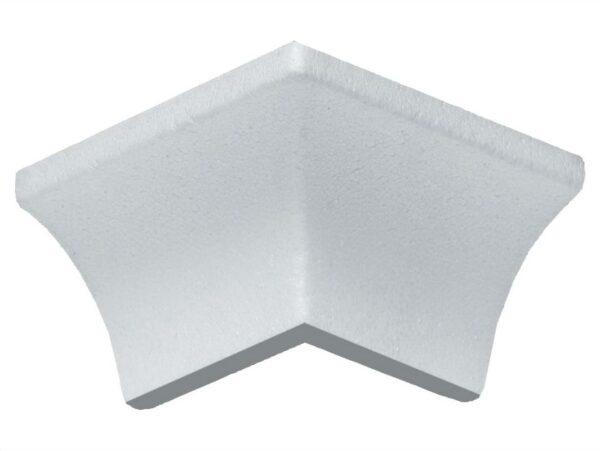 Angolo esterno in polistirene estruso IA705E per sguscio I705 3,5x3,5 cm
